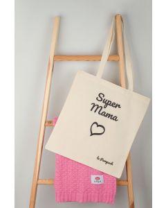 "torba bawełniana ""Super Mama"""
