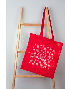 świąteczna torba bawełna LePampuch