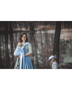 Chusta żakardowa Baby Blue 4,6M